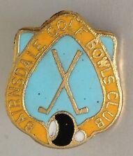 Bexley Bowling Recreation Club Badge Rare Vintage (K9)