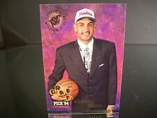 Rare Grant Hill Topps Stadium Club 1994 Rookie Card #181 Detroit Pistons