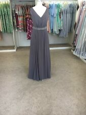 LouLou Bridesmaid Dress - Vintage Inspired, Grey, Beaded, Formal, Debs, Evening