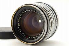 【Vintage Rare!! EXC+++++】 Nikon NIKKOR H.C 5cm 50mm f/2 Leica L39 From Japan#613
