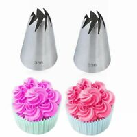 Icing Piping Nozzles Stainless Steel Baking Mold Russian Ice Cream Tool