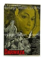 Darwaza 1978 Anil Dhawan,Shyamlee Bollywood PressBook Vintage Booklet