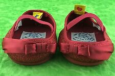 Build A Bear Holiday Ruby Red Shoes Sparkle Shimmer Slippers Dress Shoes Holiday