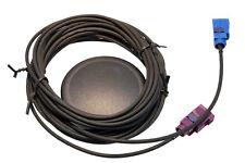 GPS-GSM Kombiantenne mit 3m Kabel und FAKRA Steckern - magnetisch inkl. Klebepad