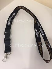 SDCC 2017 Comic-Con The Walking Dead Skybound Black Lanyard ID Badge Holder 22""