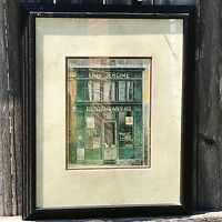 Chez Jerome - Chiu Tau Hak - French Storefront Framed Print