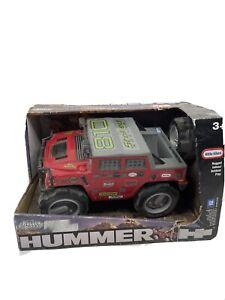 Little Tikes Rugged Riggz HUMMER H1 HIGH ADVENTURE BAJA RACING NEW VHTF