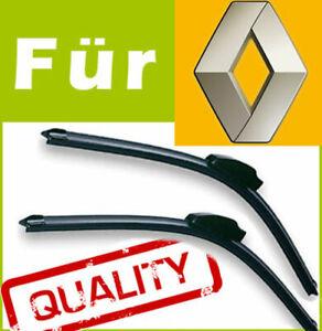 2 Scheibenwischer Wischerblätter Spezifisch für Renault Vel Satis 2002-2010