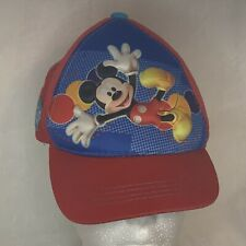 New listing Disney Mickey Mouse Boys Baseball Cap Adjustable Hat Kids Gift Toy Toddler 2+