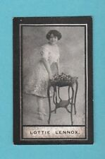 STAGE - WILLS SCISSORS - MUSIC HALL CELEBRITIES -  LOTTIE  LENNOX  -  1911