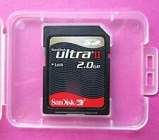 Original SanDisk ULTRA Ⅱ - 2GB SD-Karte - in Plastik-Box