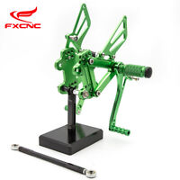 CNC Motorcycle Adjustable Footpeg Rearset for Kawasaki ZZR600 2005-2008 2006