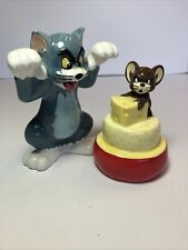 Hanna Barbera Tom and Jerry Salt & Pepper Shakers