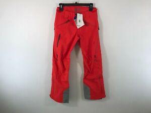 Women's Stio 1262 Environ Waterproof Ski Pants, Size M - Red/Grey