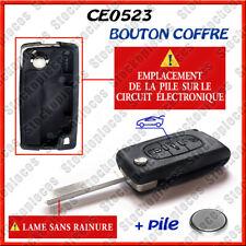 Plip Cle Coque Clef Boitier Peugeot Coffre 207 307 308 407 CE0523 s r