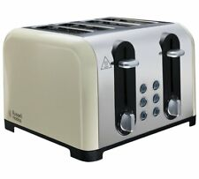 Russell Hobbs 22408 Worcester 4 Slice Toaster Combines A Polished Finish Cream