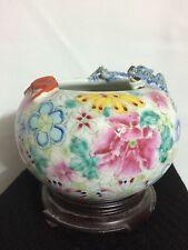 Antique Chinese Porcelain Brushwasher, Dragon & Bat