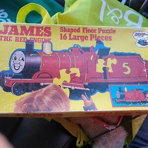 Vintage Retro 1986 James Floor Jigsaw Puzzle Thomas Tank Engine and Friends