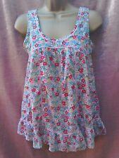 River Island cotton summer top size 8 cami top vest top country look holiday