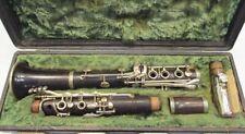Klarinette / Strasser / S.M.L. / Paris / Blasinstrument / Holzblasinstrument