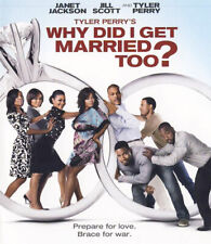 Why Did I Get Married Too? (Tyler Perry's) BLU-RAY NEW