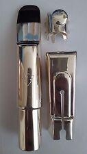 Winston & Issac baritone saxophone mouthpiece size 7 silver finish