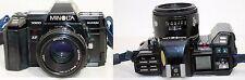 Minolta Maxxum 7000 35mm Film camera + AF 50mm 1:1.7 (22) Lens w/ Strap