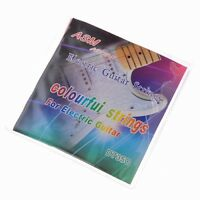 Colorful Strings for electric guitar nickel alloy wound .009-.042""