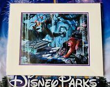 2020 Disney Parks Exclusive Brett Owens Print Rafiki And Simba Lion King