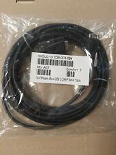 Emc 038-003-084 Null Modem Micro-db9 to Db9/f Serial Cable 25 Feet Long 7.62m