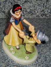 """Goebel Disney Figur """"Schneewitchen und Zwerg"""" * Rarität * Goebel Archivstück !"""