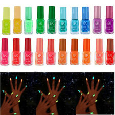 WR_ Glow in the Dark Nail Varnish Neon Fluorescent Polish Luminous Paint Party R