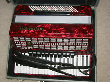 "Very nice, big ""Weltmeister Serino de Luxe"" accordion 11+5 couplers, 120 bass"
