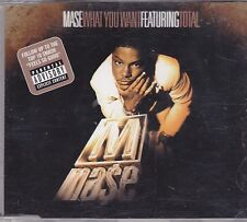 Mase-What You Want cd maxi single