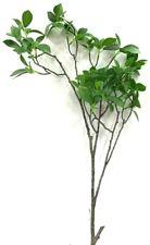 """Banian Leaf Spray Stem. Green~41"""" T. Pvc Artificial."""