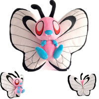 12'' Anime Pokemon Pink Shiny Butterfree Plush Doll Pocket Monster Toy Xmas Gift