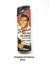 Tom Elektronic Filmplakat-Feuerzeug Motiv Kid Galahad (Elvis)