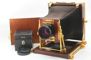 [ MINT w/ Nikkor-W 300mm Lens ] Tachihara 8x10 Wood Field stand From Japan