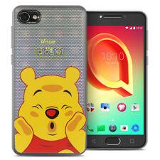 "Coque Silicone TPU Ultra-Fine Winnie the Pooh pour Alcatel A5 LED 5.2"""
