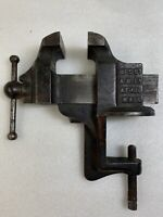Vintage Athol No.5 #5  Blacksmith Bench Vise Jaws Jewelers Vise
