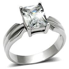 Diamond Emerald Engagement Costume Rings