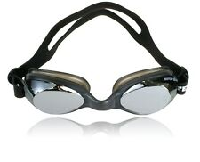 METALLIC Water Gear RAZOR Goggles Competition Performance Swim Anti Fog 29175SI
