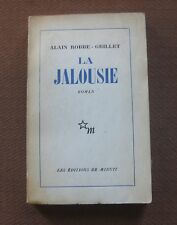 LA JALOUSIE by Alain Robbe-Grillet - 1st French edition PB 1957 - NF uncut pages