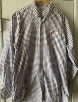 ☀️Southern Tide CLEMSON TIGERS Pocket Logo Button-Down Shirt L/S ~ Men's Large