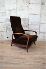 50er 60er Jahre Easy Chair, Lounge Sessel TV Sessel.