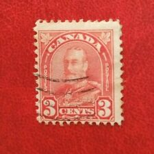CANADA 3c POSTAGE STAMP KGV USED