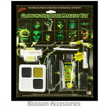 A908 Family Halloween Glow in the Dark Face Paint Make Up Costume Kit Makeup