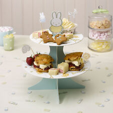 2 TIER Cupcake Muffin supporto per torta BABY Miffy Baby Shower Battesimo Compleanno