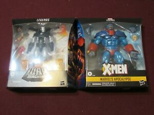 Hasbro Marvel Legends Deluxe Figure Lot of 2 (Apocalypse & War Machine) (NEW)