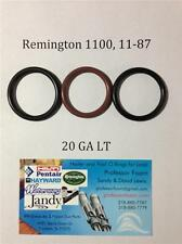 Three Remington 1100, 1187, 11-87 20ga LT Barrel Gas Seal Viton O-ring